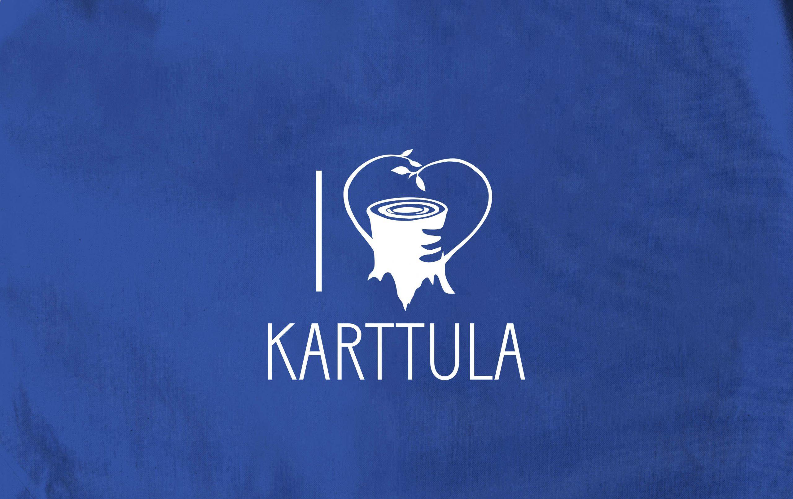 Karttula-kangaskassit ja t-paidat myynnissä Torikahviossa